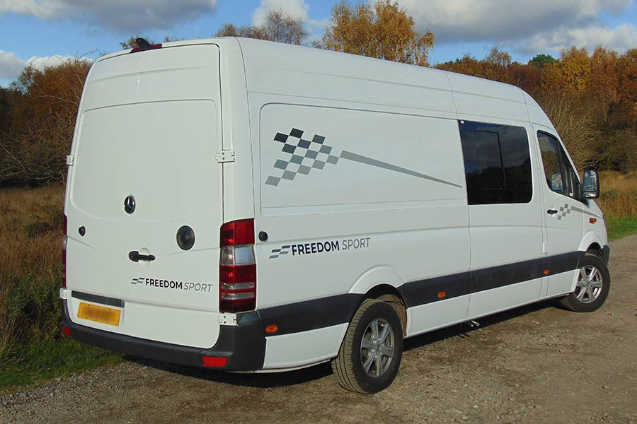Leisure 3 - Merc Race Van