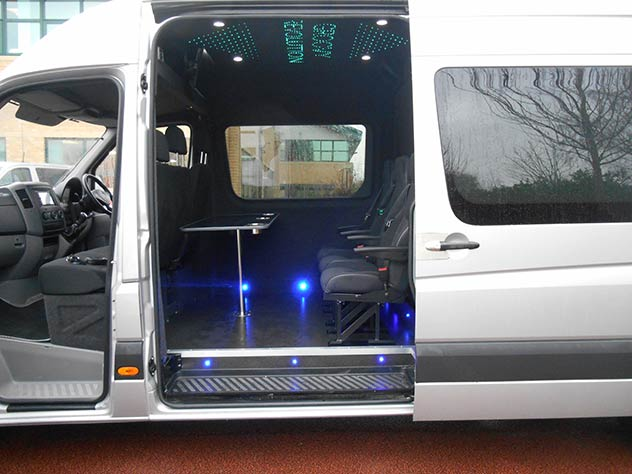Mercedes Benz Sprinter - Camper | Seating area*