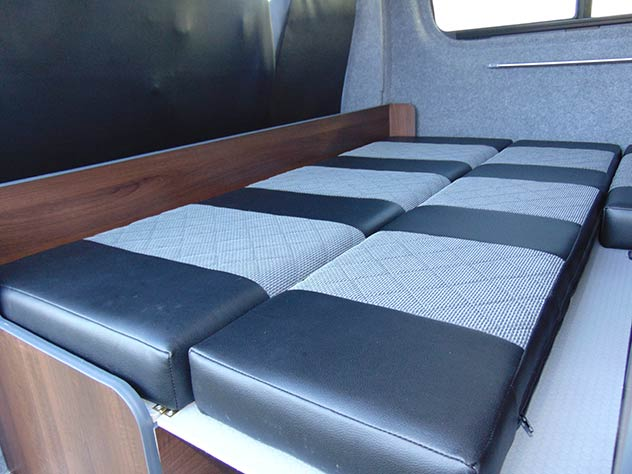 "Mercedes Benz Sprinter - Camper | Full 6""x5"" double bed"
