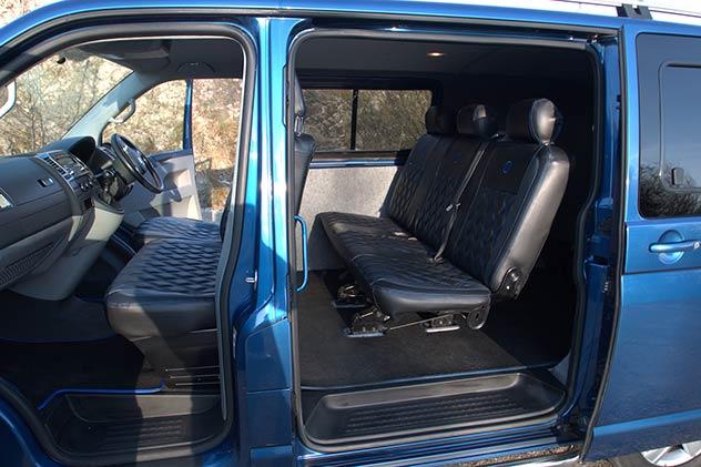 Volkswagen Transporter T5 - Kombi Folding three seat bench