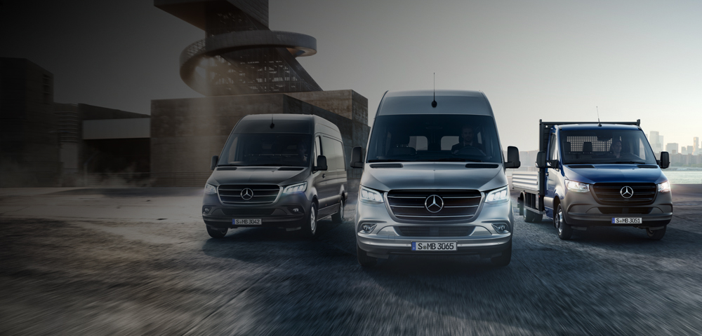 New Merc Sprinter