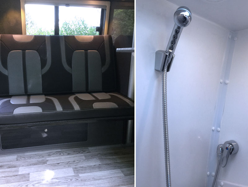 Merc Sprinter - Sports Tourer | Shower / toilet room