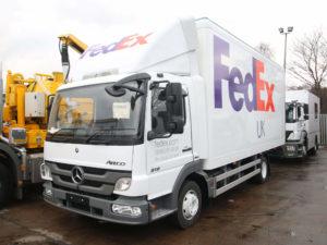 FedEx UK Mercedes Ateco B18