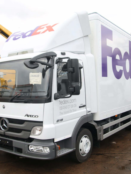FedEx UK Mercedes Ateco B18