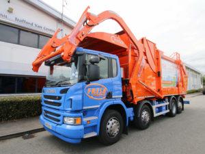 Fresh Scania Refuse Truck