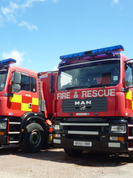 MAN Fire & Rescue Trucks