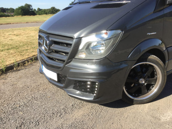 Merc Sprinter - Sports Tourer | Custom sports bumper and side skirts