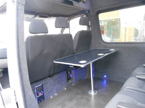 Mercedes Benz Sprinter - Camper | Touch activated lights