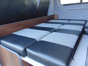"Mercedes Benz Sprinter - Camper | Full 6""x5"" double bed"