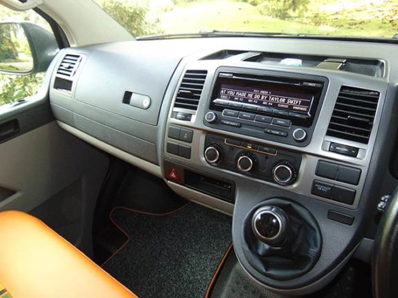 Volkswagen Transporter T5 – Camper Multi-Function Display