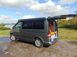 Volkswagen Transporter T5 – Camper Privacy glass*