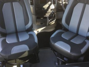 Merc Sprinter - Sports Tourer | Captain swivel seats - driver and passenger