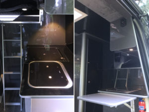 Merc Sprinter - Sports Tourer | 3 ring gas cooker and oven / grill