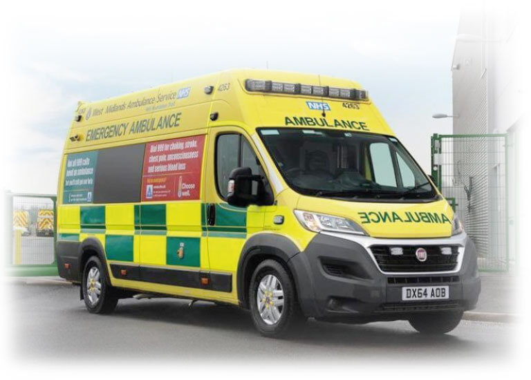 Handsfree Group installed critical communication equipment into 328 Ambulances for West Midlands Ambulance Service.