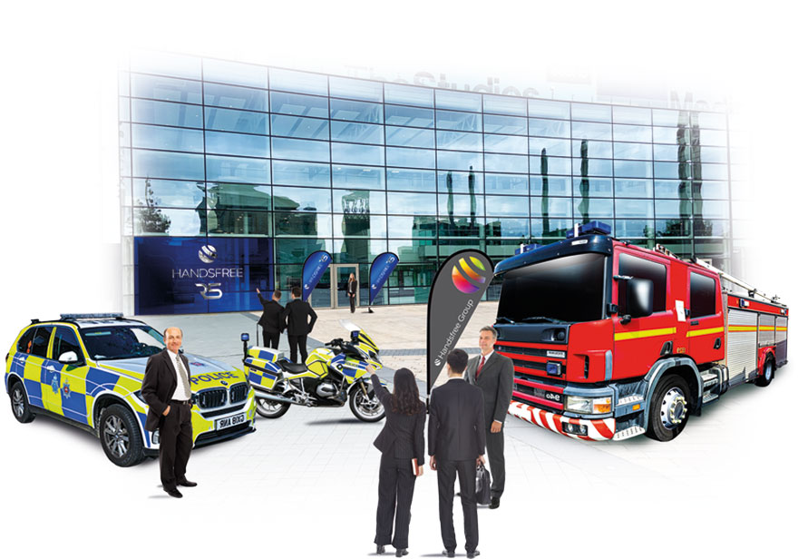 Welcome to the launch of the Handsfree R5 Emergency Service Networks new product range in association with the Home Office